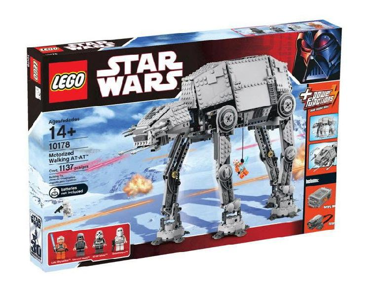 Lego star wars. at at motorizado.precintado.