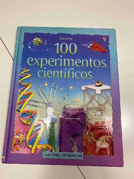 Libro 100 experimentos científicos para niños