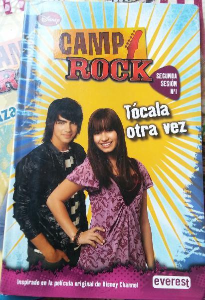 Libro tócala otra vez (serie camp rock)
