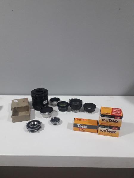 Lote accesorios cámaras antiguas