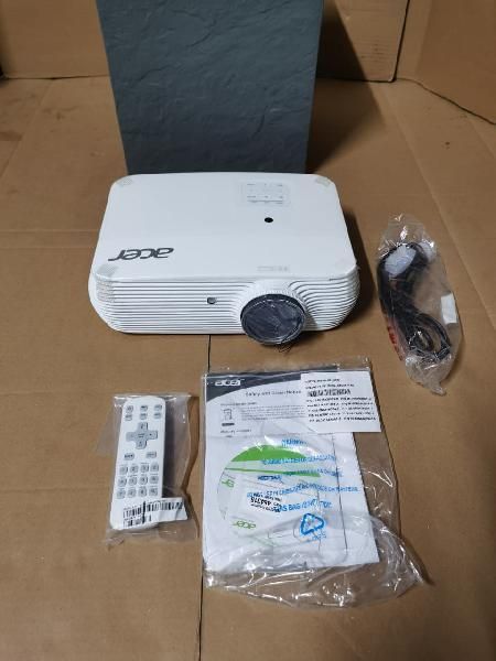 Proyector acer home hd 3300 lm 3d nuevo