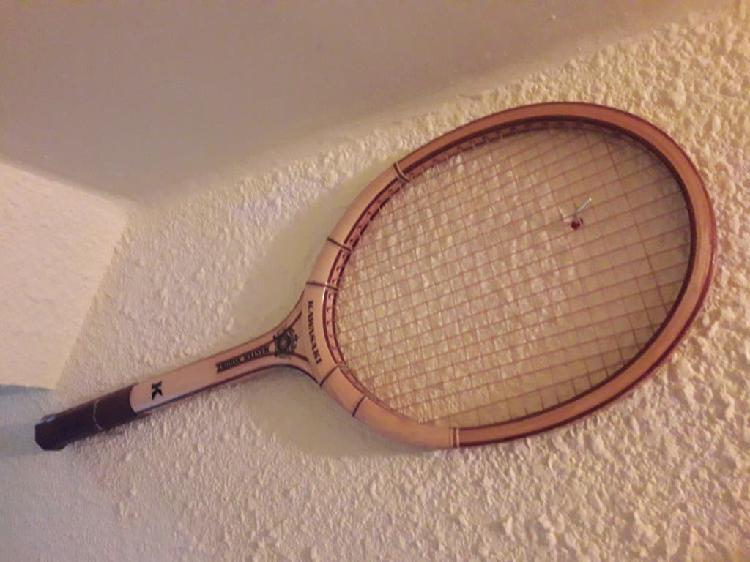 Raquetas de tenis de madera años 70.