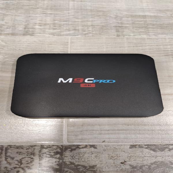 Tv box bqeel m9c pro 4k