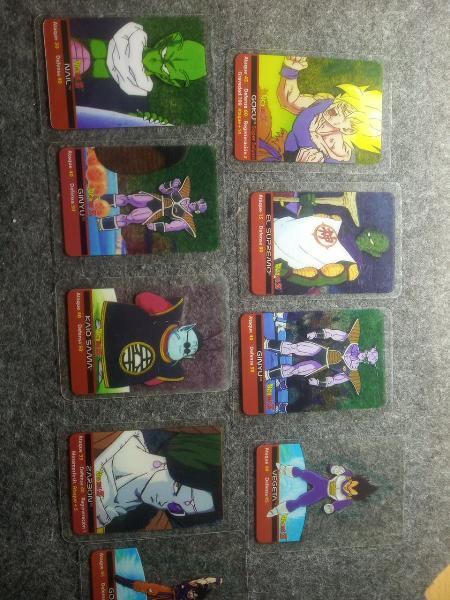 Cartas dragón ball z 1989 lamincards