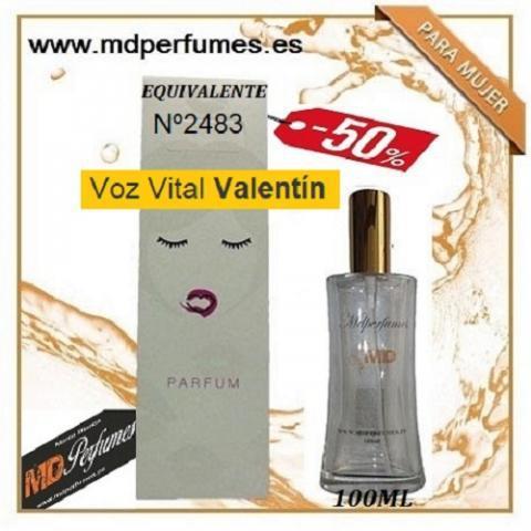 Oferta perfume mujer nº2483 voz vital valentín alta gama