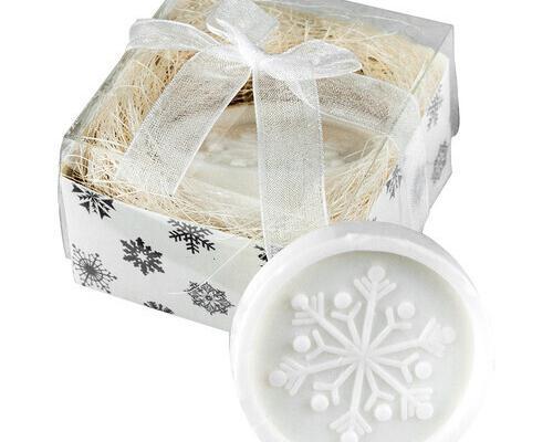 Pastilla de jabón navideña