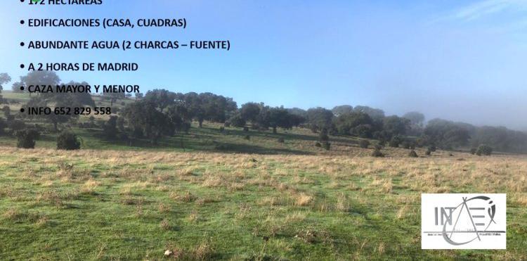 Venta de Finca ganadera con casa en Cáceres