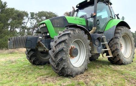 Venta de Tractor Deutz Fahr Agrotron 210 en Segovia