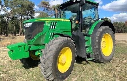 Venta de Tractor John Deere 6190R en Segovia