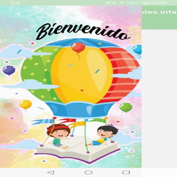App: actividades infantiles