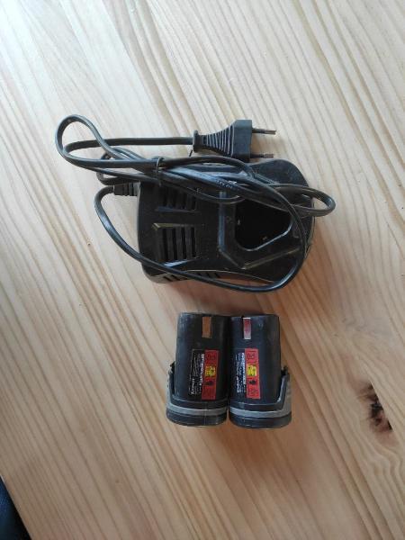 Baterias cargador einhell atornillador