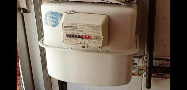 Cambio de sitio de contadores de gas