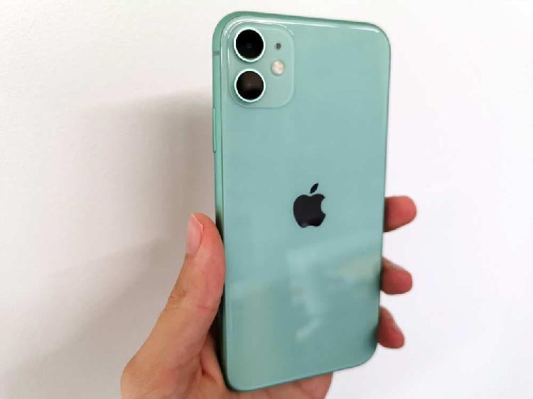 Móvil apple 128gb verde menta claro