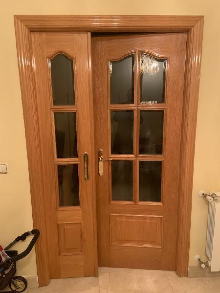 Puertas roble macizas 62 cm y 72 cm