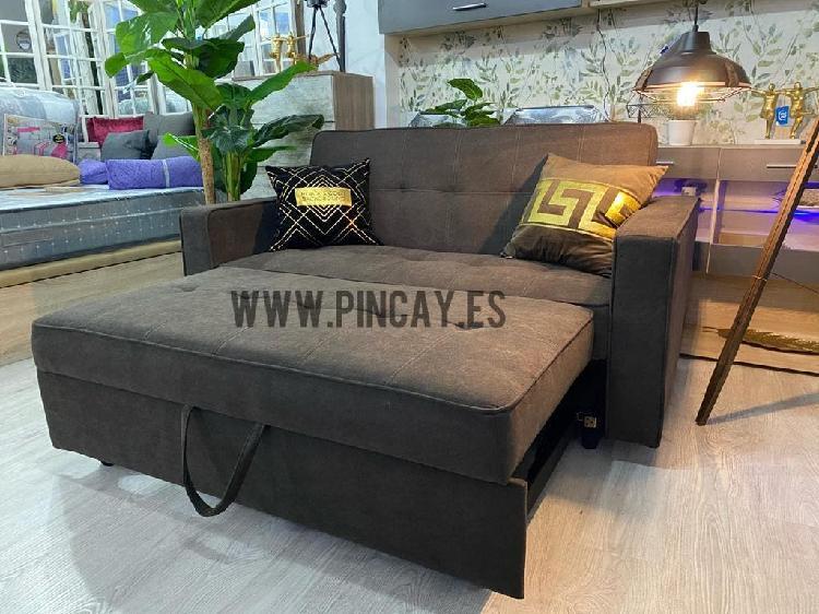 Sofá cama nuevo entrega inmediata 33€ mensuales