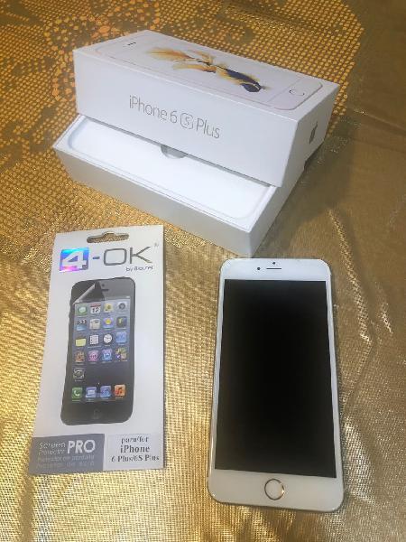Iphone 6s plus 128 gb dotado