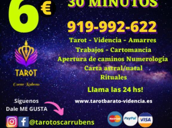 Numerología, tarot, videncia por 6€