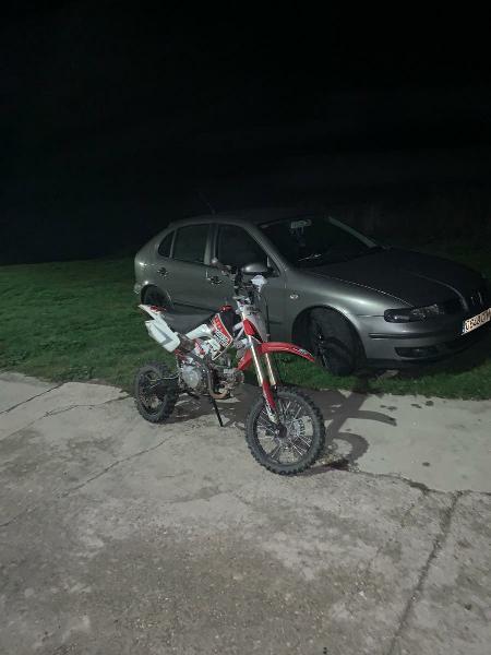 Pit bike rebel master 125cc