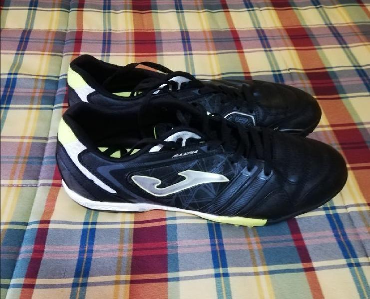 Botas fútbol de joma maxima 801 black turf