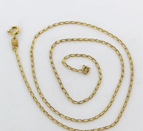 Cadena de oro de 18 k - 50 cm - 3.60 gr