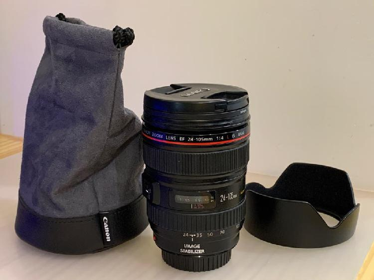Canon ef serie l 24-105mm f4 macro