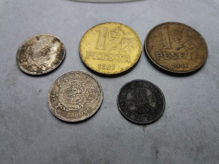 España monedas de 1906 a 1937. precio lote