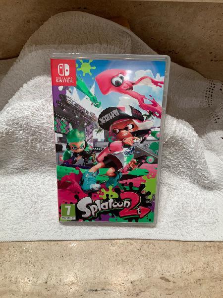 Juego splatoon2 nintendo switch nuevo !!!!!!!!