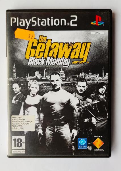 Juego the getaway black monday para play station 2