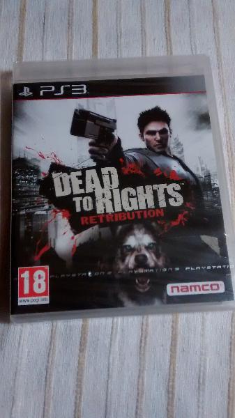 Juego ps3 dead to rights retribution (precintado)