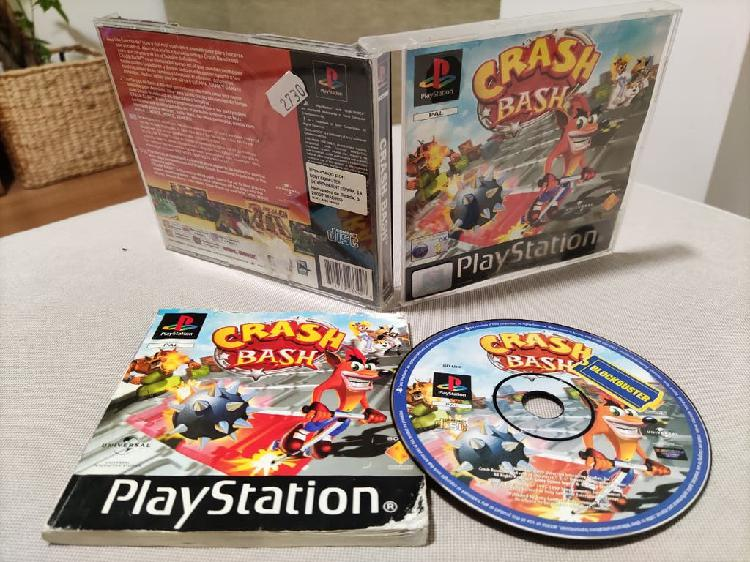 Juego original crash bash de playstation 1