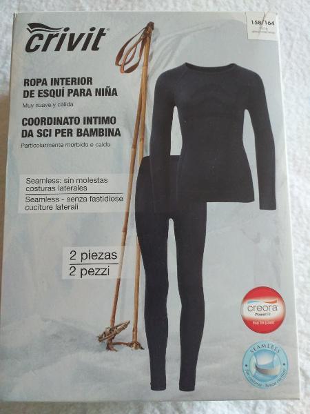 Malla y camiseta interior ropa esquiar