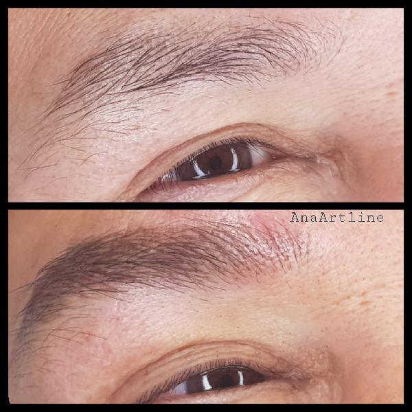 Micropigmentacion de cejas chicos