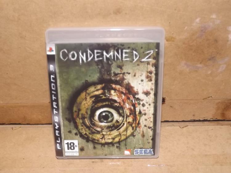 Playstation 3 juego condemned 2 sega