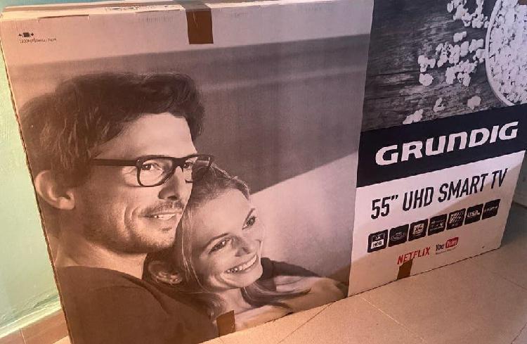 "Tv grundig 55"" uhd led smart tv nuevo"