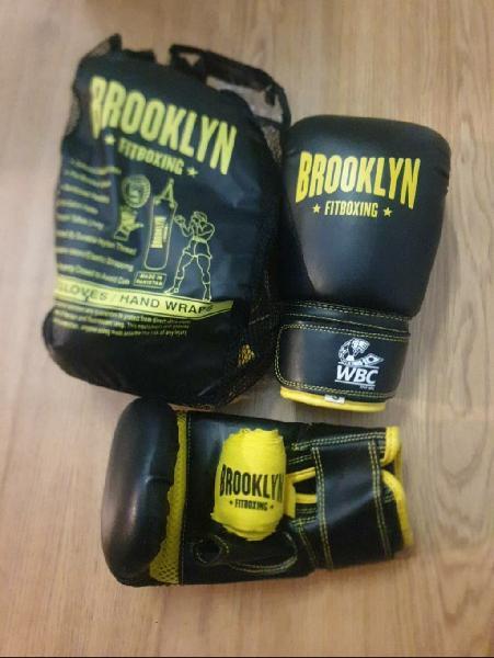 Urge! guantes boxeo 1 uso como nuevo