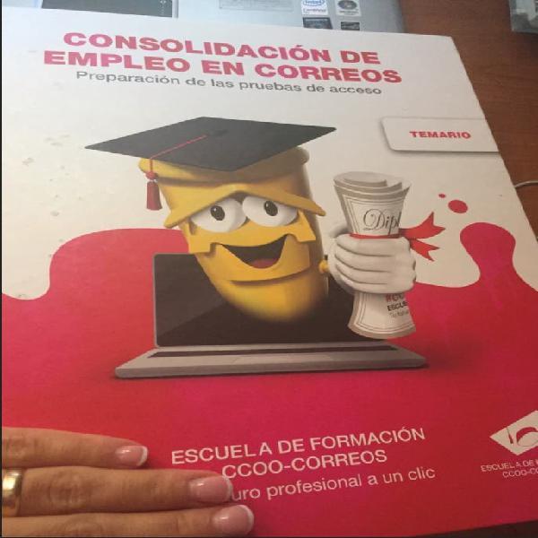 Correos ccoo 2021 temario examen oposicion
