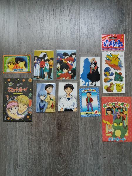 Lote cromos manga y anime. precio lote