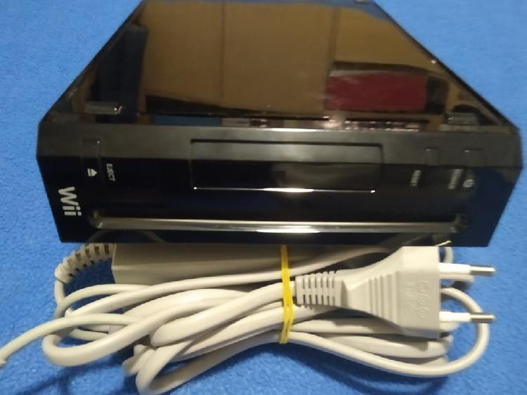 Wii.nintendo wii negra con opcion de juegos usb