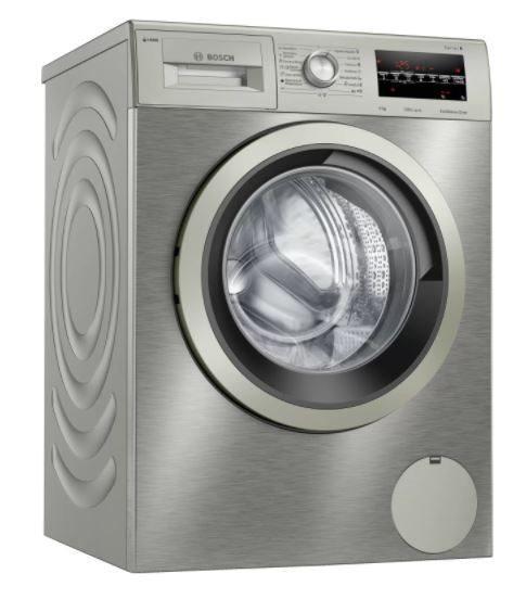 Bosch wau24s5xes - lavadora 9kg 1200rpm clase a+++ acero