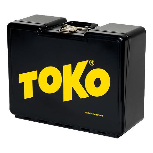 Caja porta material encerado toko big box negro amarillo