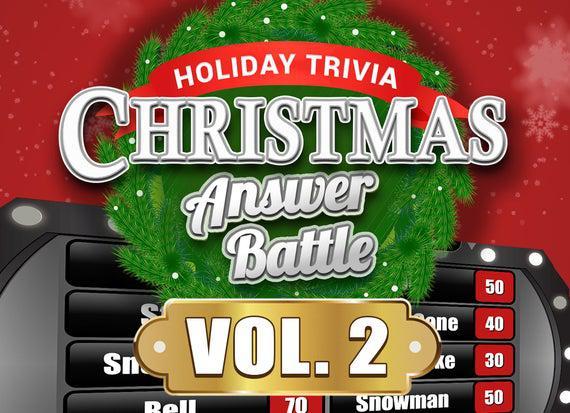 Christmas answer battle vol. 2 with scoreboard - trivia