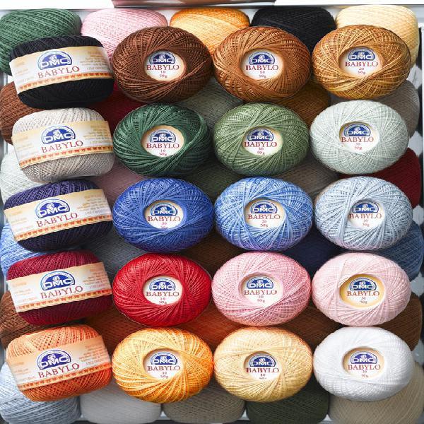Dmc crochet babylo hilo de algodón fino 50g talla no.10