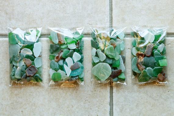 Italiano genuino artesanal vidrio de mar mezcla a granel