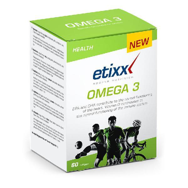 Omega 3 etixx softgels 60 sobres