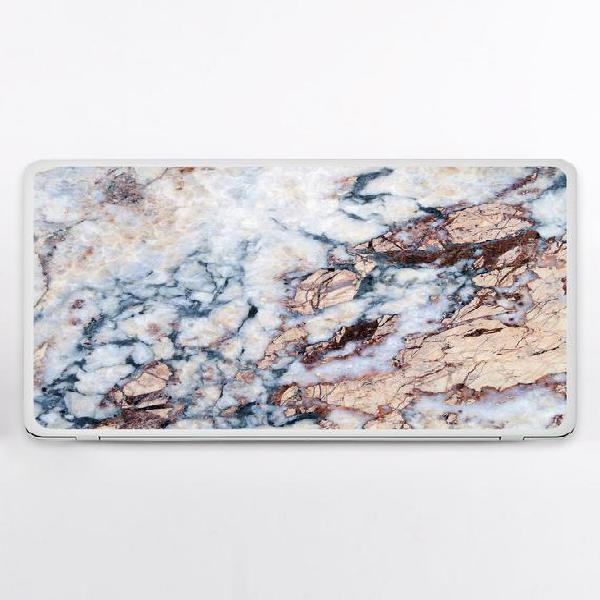 Tamaño universal portátil marrón asus pegatina mármol