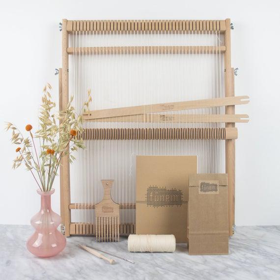 Xl tejer loom kit - 15 pulgadas / 38 cm de ancho - kit de
