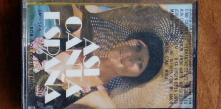 Asi canta españa casete euromusic - versiones por cover's