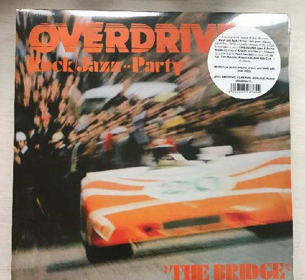 Bridge - overdrive rock/jazz party (1972) - lp reedición