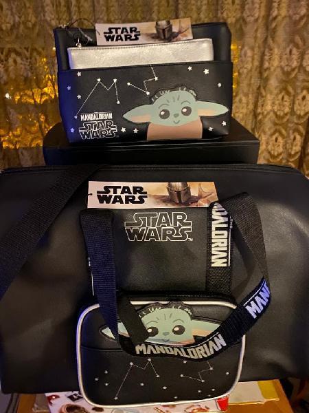 Bolsa viaje y necessers star wars