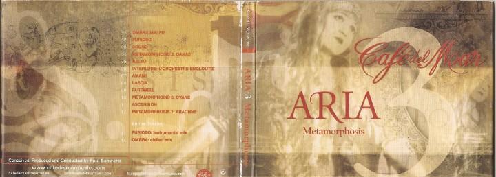 Cafe del mar - aria metamorphosis (cd digipack, cafe del mar